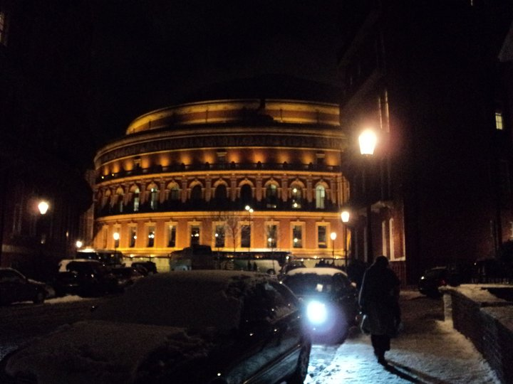 Royal albert hall my london for Door 12 royal albert hall